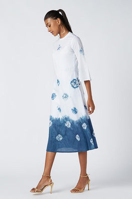 Okhai 'Ariel' Tie Dye Cotton Dress
