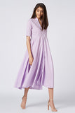 Okhai 'Lavender Dream' Organic Cotton Cambric Dress