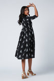 Okhai 'Ariana' Ikat Cotton Dress