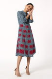 Okhai ' Euphoric' Hand Block Print Dress
