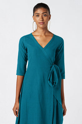 Okhai 'Naomi' Pure Cotton Wrap Dress