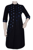 "Okhai ""Shooting Stars"" Mirror Work Kurti"