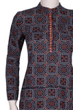 Okhai 'The Achiever' Block Printed Bagru Embroidered Top