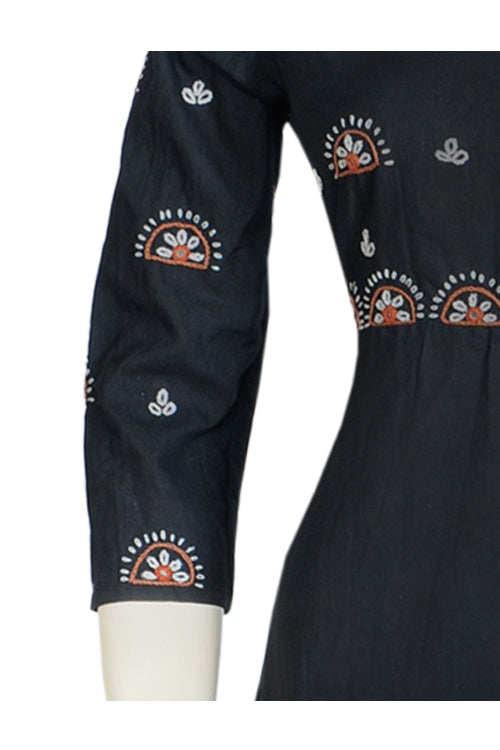 "Okhai ""New Horizon"" Hand Embroidery Work Kurti"