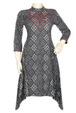 "Okhai ""Volcanic Beauty"" Mirror Work Kurti"