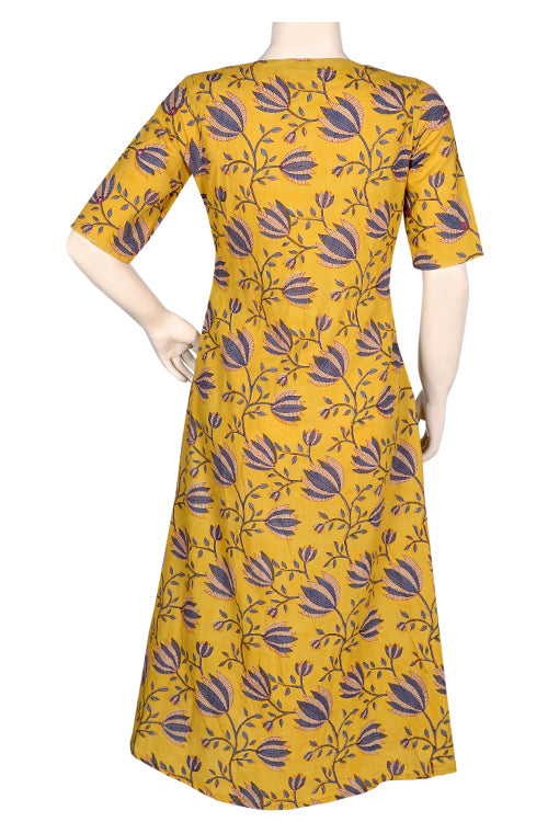 "Okhai ""Golden Fields"" Mirror Work Dress"