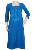 "Okhai ""Braveheart"" Applique Work Kurta"