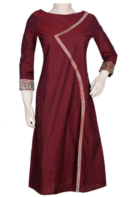 "Okhai ""Benarasi Beauty""  Cotton Kurti"