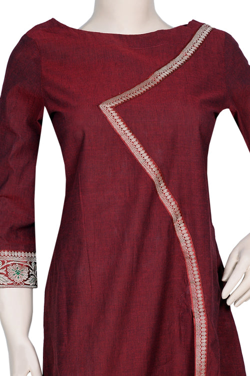 "Okhai ""Banarasi Beauty""  Cotton Kurti"