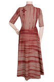 "Okhai ""Sepia Memories"" Tie-Dye Dress"