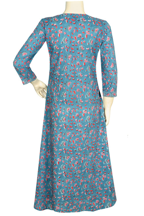 "Okhai ""Pretty Day Dream"" Hand Block Printed Kurta"