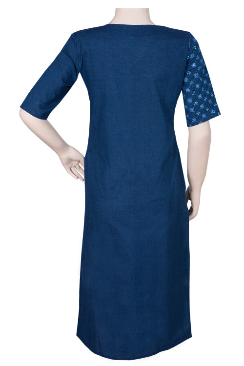 "Okhai ""Water Diamonds"" Embroidery Work Kurta"