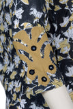 "Okhai ""October Sky"" Applique Work Kurta"