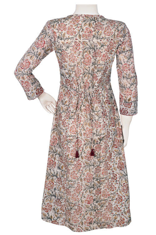 Okhai 'Wildflower Bouquet' Kalamkari Dress