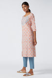 Okhai 'Sasmira' Appliqué Cotton Kurta