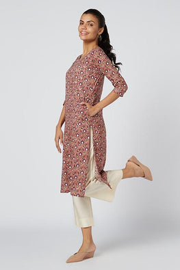 Okhai 'Pixie' Embroidered Cotton Kurta