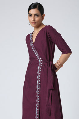 Okhai 'Arzoo' Pure Cotton Wrap Dress