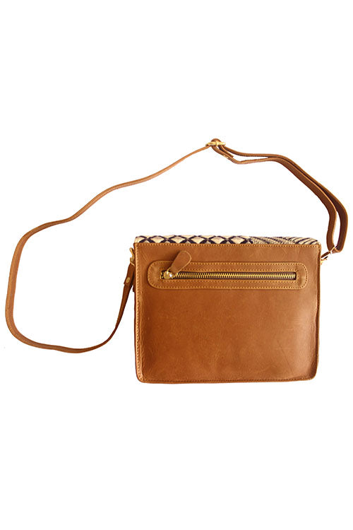 Okhai 'Naksha' Leather Sling Bag