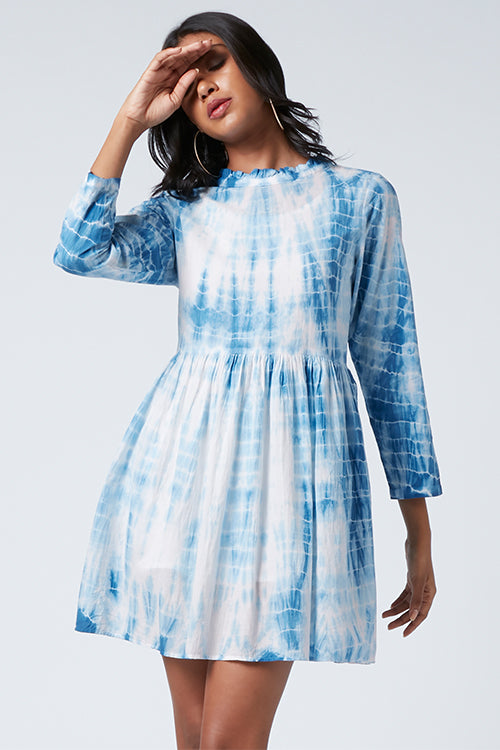 Okhai 'Varkha' Tie-Dye Pure Cotton Dress