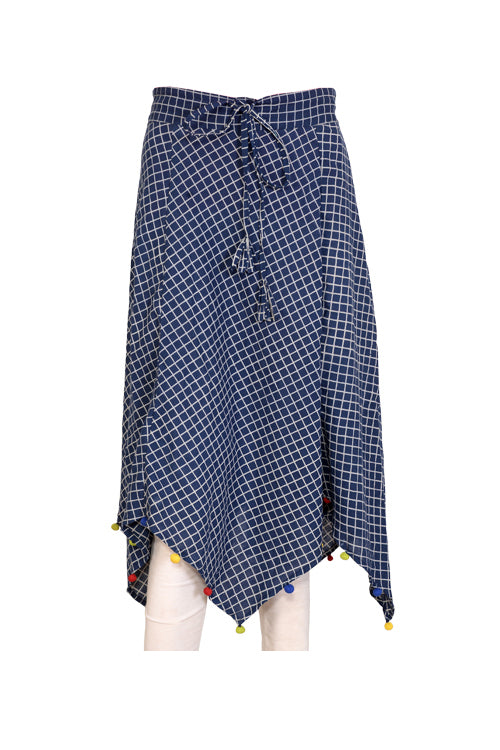 "Okhai ""Buttons in a Grid"" Skirt"