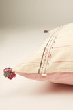 Pink kala cotton cushion 18 by 18