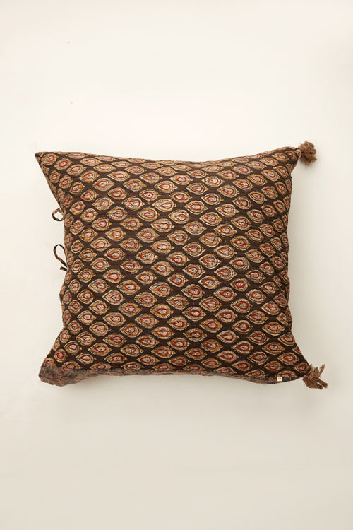 Lotus Veda Ajrakh cushion 24 by 24-2