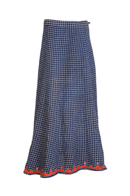 "Okhai ""Wrapped in a Grid"" Skirt"