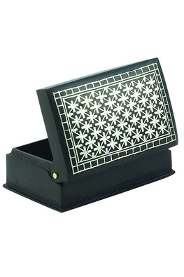 "`Bidri` Handcrafted Box 2"" Phooljadi Work"