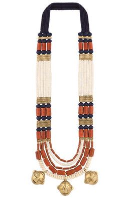 MayaBazaar-Naga Trio Necklace
