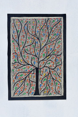 Tree of Peacocks Wallhanging