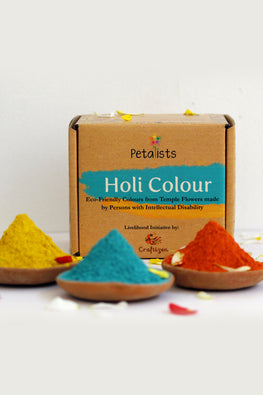 Petalists Eco-friendly Holi Colour Combo of 3