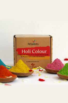 Petalists Eco-friendly Holi Colour Combo of 5