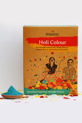 Petalists Eco-friendly Holi Colour Blue