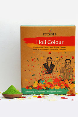 Petalists Eco-friendly Holi Colour Green