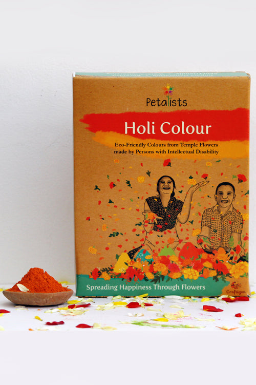 Petalists Eco-friendly Holi Colour Orange