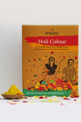 Petalists Eco-friendly Holi Colour Yellow