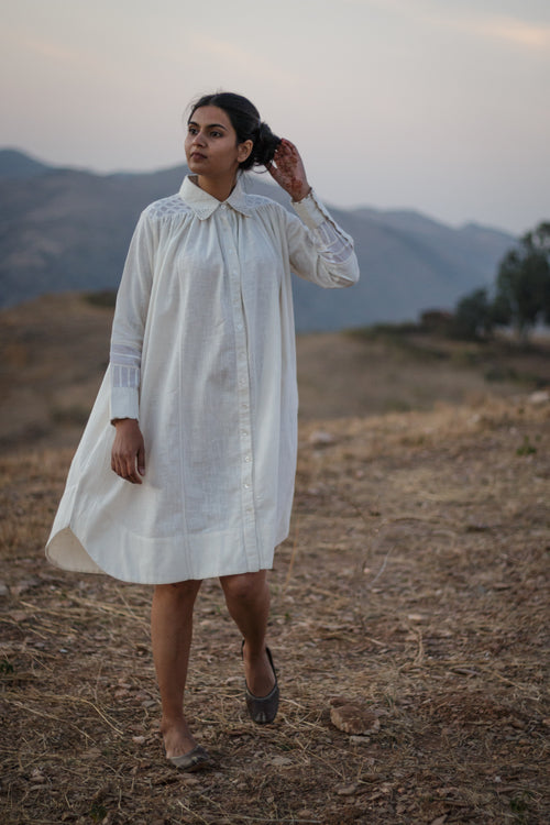 Kora 3Q Slv Shirt Dress