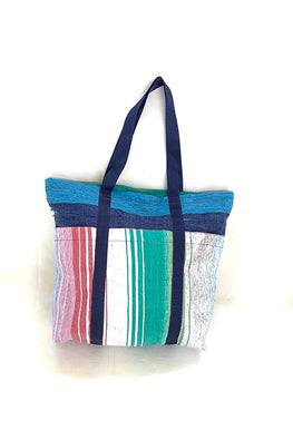Upcycled Plastic Beach Bag