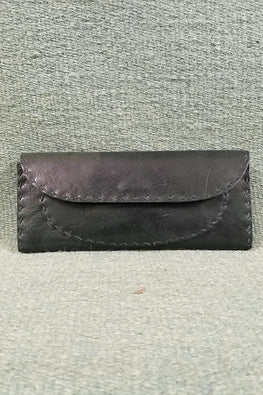 Jawaja Leather Handcrafted Leather Clutch