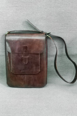 Jawaja Leather Handcrafted Leather Sling Bag