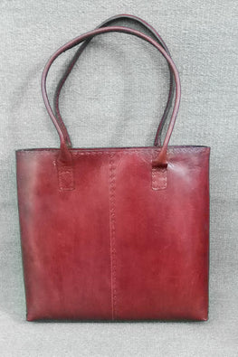 Jawaja Leather Handcrafted Leather Tote-145