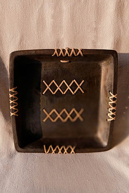 Terracotta by Sachii Longpi Black Pottery Wall Plate