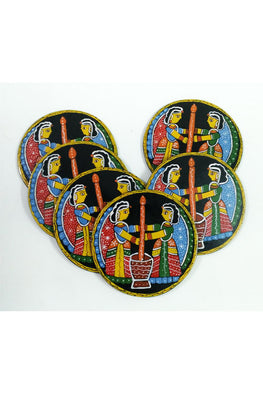 Tikuli-Art-Hand-Painted-Round-and-Square-Coasters-set-of-six-17