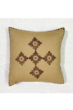 Block Printing with Hand Embroided  Cushion Cover-9