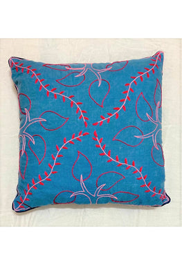Samuday Craft Hand Embroided Cushion Cover.39