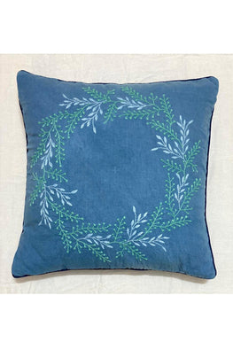 Samuday Craft Hand Embroided Cushion Cover.40