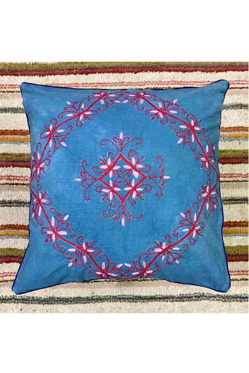Samuday Craft Hand Embroided Cushion Cover.41