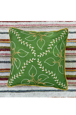 Samuday Craft Hand Embroided Cushion Cover.42