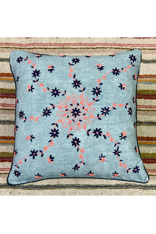 Samuday Craft Hand Embroided Cushion Cover.43