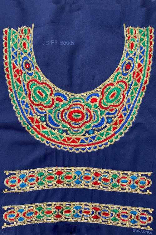 Shrujan Mukko Embroidery Yoke-19